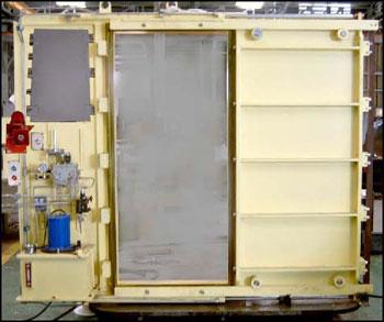 водонепроницаемые клинкетные двери с электро и